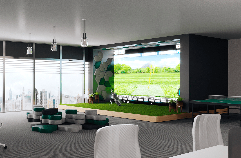 Office golf by BulDesk