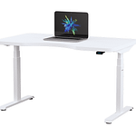 Height adjustable standing desk BulDesk Pro White