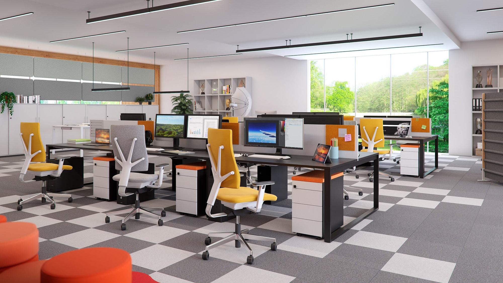 Modern office BulDesk
