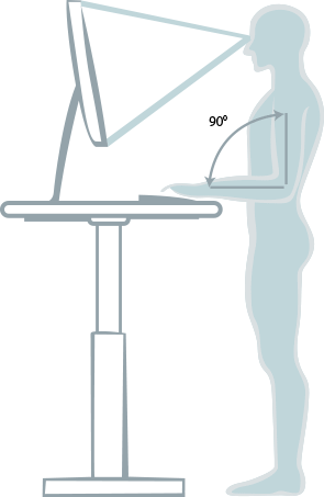 Standing desks BulDesk Pro improve posture