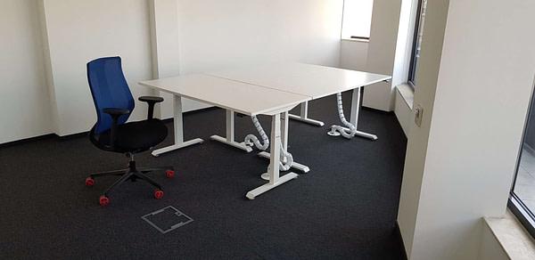 White stand-up desks BulDesk Pro